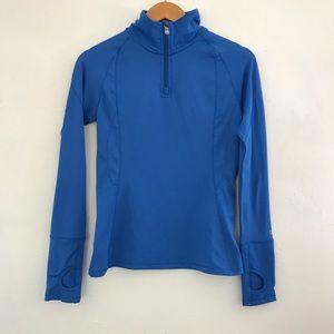 Alo blue pullover sweater